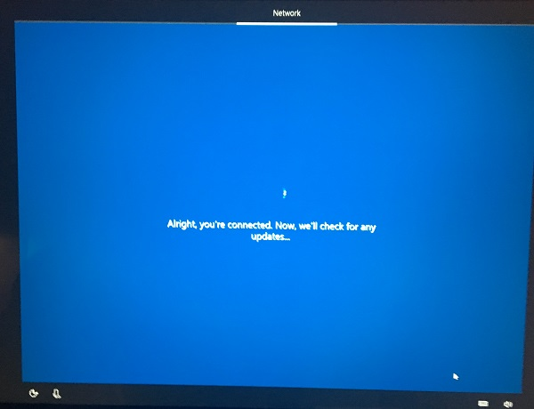 Windows 10 Setup - Check Updates Again