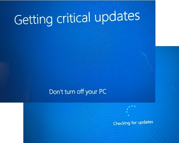 Windows 10 Setup - Install System Updates
