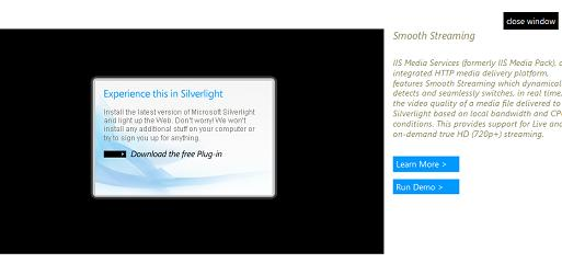 Experience this in Silverlight