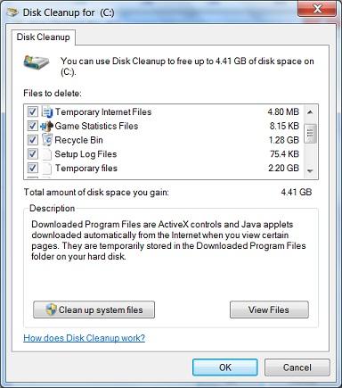 temp file cleanup windows 7 Free Downloads ▷▷